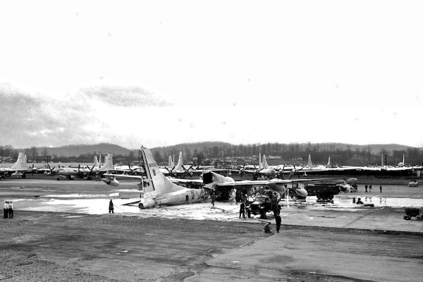 48-0052 and B-50's awaiting modification